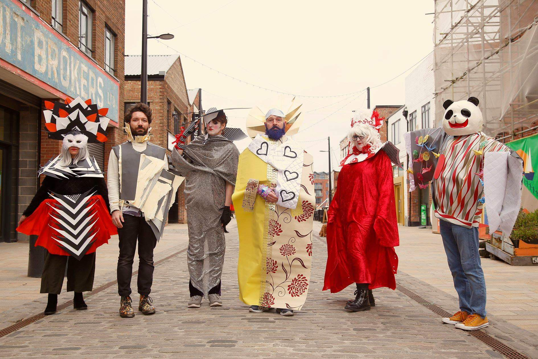 Feral Art School features a Costume of Dreams